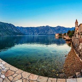 Montenegro Sea sunset