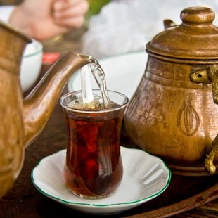 Turkish Tea in Bodrum
