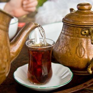 Turkish Tea in Bodrum