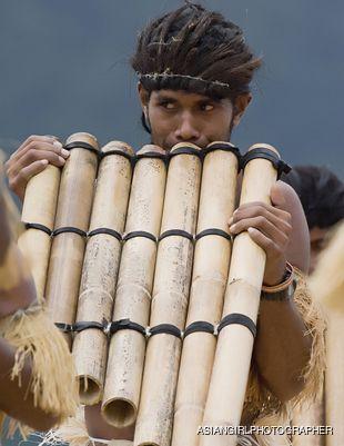 Solomon Island pan piper