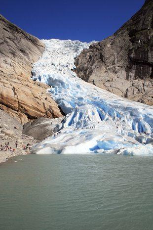Glacier Briksdalsbreen