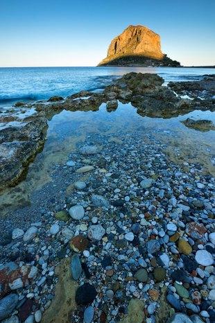 Crystalline Waters off Coast of Monemvasia