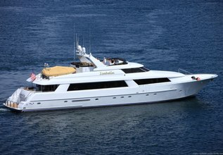 Three Blessings Charter Yacht at Fort Lauderdale Boat Show 2019 (FLIBS)