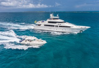 The B&B Charter Yacht at Fort Lauderdale Boat Show 2015