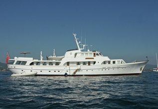Secret Life Charter Yacht at MIPIM 2014