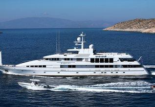 Pegasus Charter Yacht at Mediterranean Yacht Show 2017