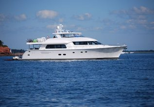 Playpen Charter Yacht at Fort Lauderdale Boat Show 2014