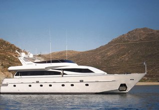 Hammerhead Charter Yacht at Mediterranean Yacht Show 2019