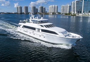 Probability Charter Yacht at Fort Lauderdale Boat Show 2019 (FLIBS)