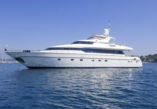 Indulgence of Poole Charter Yacht at MIPIM 2014