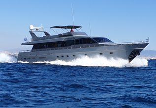 Kiss Charter Yacht at Mediterranean Yacht Show 2019