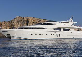 Rini V Charter Yacht at Mediterranean Yacht Show 2019