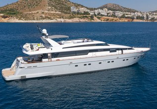 Grace Charter Yacht at East Med Yacht Show 2014