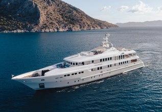O'Ceanos Charter Yacht at Mediterranean Yacht Show 2017