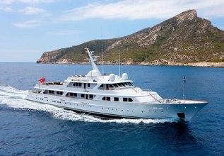 Mirage Charter Yacht at Monaco Grand Prix Yacht Charter