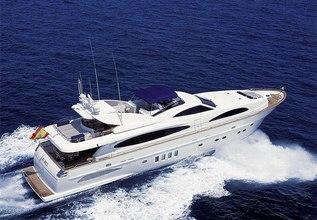 Jubel Charter Yacht at Palma Superyacht Show 2014