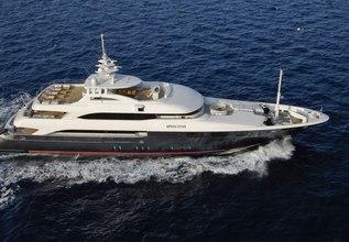 O'Neiro Charter Yacht at Mediterranean Yacht Show 2017