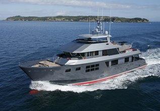 Akiko Charter Yacht at Monaco Yacht Show 2013