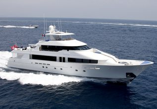 Summer 69 Charter Yacht at Fort Lauderdale Boat Show 2015