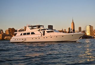 Justine Charter Yacht at Palm Beach Boat Show 2014