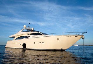 Piola Charter Yacht at MYBA Charter Show 2013