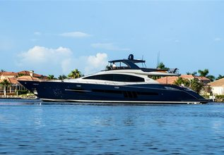 Algorythm Charter Yacht at Fort Lauderdale Boat Show 2015