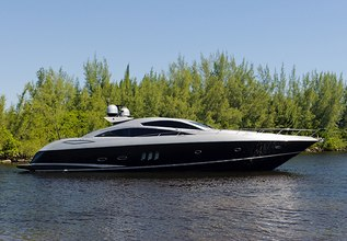 Hideout Charter Yacht at Fort Lauderdale Boat Show 2014