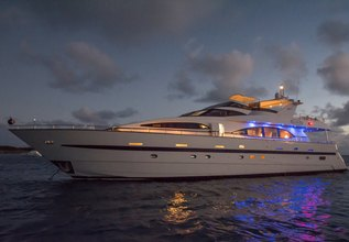 Endless Sun Charter Yacht at Fort Lauderdale Boat Show 2015