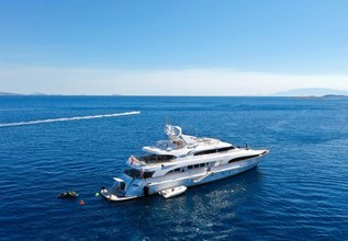 Lady G II Charter Yacht at Cannes Yachting Festival 2014