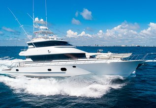 Grand Legacy Charter Yacht at Fort Lauderdale Boat Show 2019 (FLIBS)