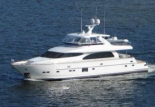 Riprap Charter Yacht at Palm Beach Boat Show 2013