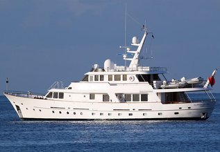 La Reina del Mar Charter Yacht at Palma Superyacht Show 2014