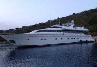 Venus Vistoria Charter Yacht at Mediterranean Yacht Show 2016