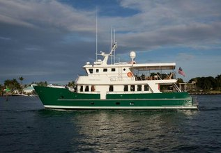 Maverick Charter Yacht at Fort Lauderdale Boat Show 2015