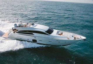 Doris V Charter Yacht at Miami Yacht Show 2020