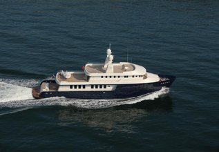 The Big Blue Charter Yacht at Fort Lauderdale Boat Show 2015