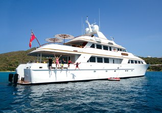 Lady J Charter Yacht at Antigua Charter Yacht Show 2017