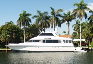 Our Trade Charter Yacht at Fort Lauderdale Boat Show 2014
