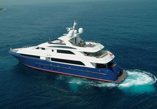 Lady Leila Charter Yacht at Fort Lauderdale Boat Show 2015