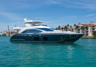 KB1 Charter Yacht at Fort Lauderdale Boat Show 2019 (FLIBS)