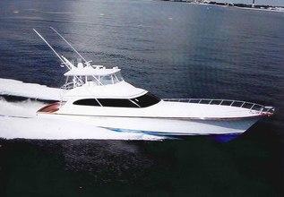 Maverick Charter Yacht at Palm Beach Boat Show 2016