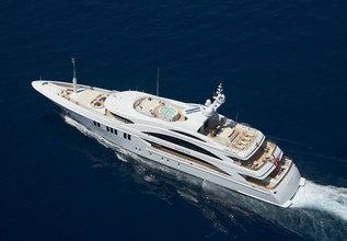 Mimi Charter Yacht at Monaco Grand Prix 2014