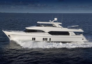 Ocean Alexander 100 Hull #2 Charter Yacht at Fort Lauderdale Boat Show 2015