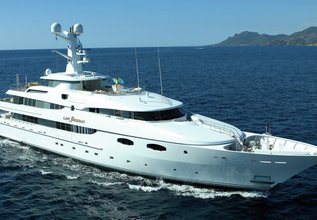 Amaral Charter Yacht at Fort Lauderdale Boat Show 2015
