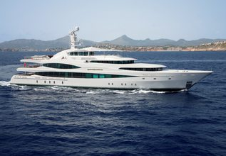 Lady Christine Charter Yacht at The Superyacht Show 2019