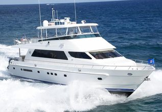 Dark Horse Charter Yacht at Miami Yacht Show 2018