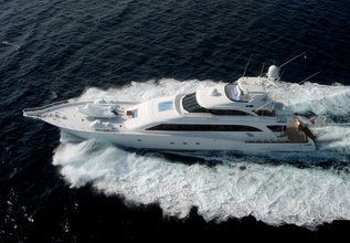 Bad Company Charter Yacht at Palm Beach Boat Show 2014