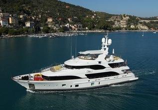 Latiko Charter Yacht at MYBA Charter Show 2016