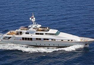 Ego Charter Yacht at MYBA Charter Show 2014