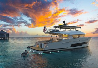 Leven Charter Yacht at Fort Lauderdale Boat Show 2019 (FLIBS)